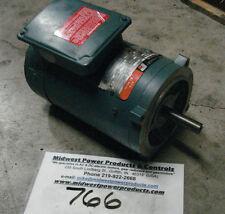 Reliance DC motor V78B4120, .75hp, 2500rpm, 56C, 90vdc, TENV, EF56C, 56WG12F