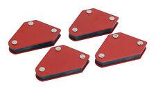 Titular de la Soldadura Magnético Mini 4pc - 10 lb (approx. 4.54 kg) Imán sostener retención de soldadura