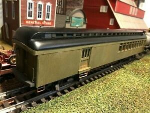 O Scale 2 Rail LaBelle wood kit passenger car with Walthers interior. New