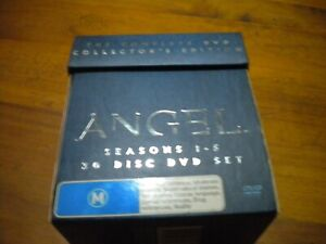 ANGEL SEASONS 1-5 COMPLETE COLLECTORS EDITION BOXED SET 30 DVD's