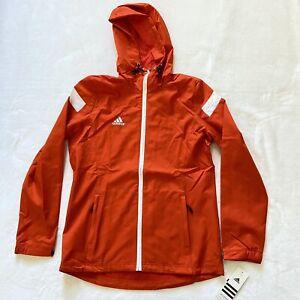 Women's Adidas Full Zip ClimaProof Windbreaker Jacket Medium New With Tags
