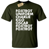 FOXTROT T-Shirt funny Mens offensive rude gift