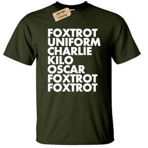 FOXTROT T-Shirt funny Mens offensive rude gift