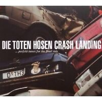 DIE TOTEN HOSEN - CRASH LANDING CD ROCK 28 TRACKS NEU