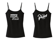 Stetsin & Lace  Ladies Tank Top  Black