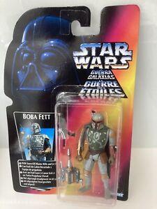 Star Wars Power Of The Force BOBA FETT Figure SEALED MOC Kenner 1996