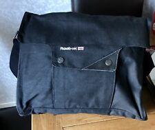 Reebok College School Satchel Crossbody Bag  Black BNWT