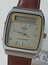 Seiko H357-510B Quartz Alarm Chronograph Ana & Digi Vintage 1980 Defekt Bastler