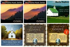 6 SOUTHERN GOSPEL CD's LOT country hymns~Marty Raybon,George Jones,Johnny Cash++