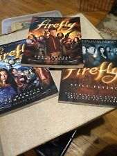 Firefly Official Companion Vol 1,2, and still flying Joss Whedon Tv Show