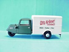 "Pola G Scale Model Train Goliath ""Otto Kramer"" 3-Wheel Covered Truck No. 1861"