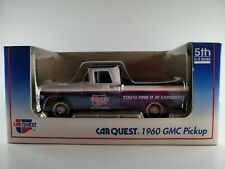 Liberty Car Quest 1960 Gmc Pickup Die Cast Metal Truck Lockable Coin Bank 5th