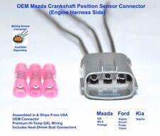 Mazda Protege Crankshaft Position Sensor Connector Plug Pigtail Crank Angle CAS