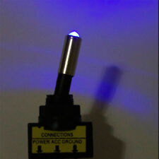 Blue light up led toggle switch 12v 20a on off