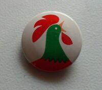 "Vintage Kellogg's Corn Flakes Rooster Pinback Button 1"" Very Nice Condition 7159"