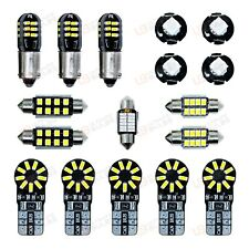 VW GOLF MK4 IV 12PC INTERIOR LED CAR LIGHT KIT PURE XENON WHITE BULBS - UK STOCK