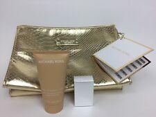 Michael Kors Logo Cosmetic Case, Body Lotion 1.7 Fl Oz, Eau De Parfum 0.17 Fl Oz