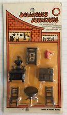 Miniature Dollhouse KITCHEN Furniture  1/4 1:48 Quarter Scale A+ VINTAGE Fun!