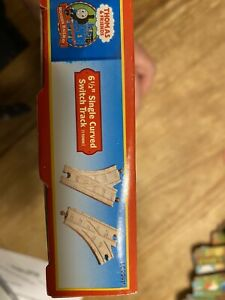 NEW 6 1/2' Curved SWITCH Track Thomas Tank Engine Wooden train RETIRED 2006