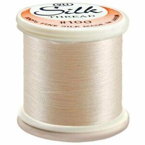 Kanagawa / YLI 100% and #100 Silk Thread [ 212 - Natural White ]