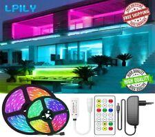 Led Strip Lights 16.4ft RGB Led Room Lights 5050 Led Water Proof Color Changing