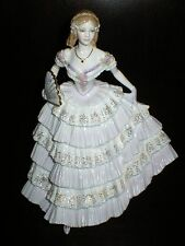 ROYAL WORCESTER FIGURE BELLE OF THE BALL FIGURINE COMPTON & WOODHOUSE LIMITED ED
