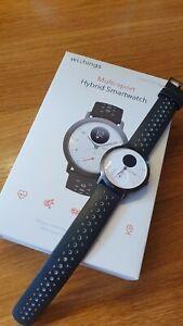 Withings Steel HR Sport - Multisport Hybrid Smartwatch, gebraucht, OVP