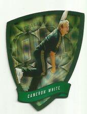 Cricket Australia Select 2009/10 DIE CUT FDC43 CAMERON WHITE ODI TEAM CARD ACB