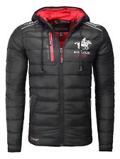 Chaqueta Acolchada Hombre Geographical Norway, Color Negro, Talla L
