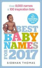 Best Baby Names for 2017: Over 8,000 Names and 100 Inspiration Lists Thomas, Sio