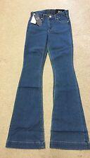 Armani Exchange AX J70 Woman P0 0 Stretch denim Jeans Low Rise Skinny Flare New