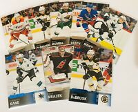 2019-20 UPPER DECK OVERTIME WAVE 1 BASE CARDS/ROOKIES BLUE PARALLEL YOU PICK