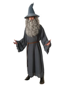 """Hobbit Costume, Mens Gandalf Outfit, Standard, CHEST 44"""""""