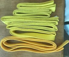 Yellow Martial Arts Belts / Mma, Tae Kwon Do, Karate, All Sizes