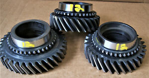 Muncie 4 Speed M20 and M21 1st 2nd and 3rd gears O.E. take outs USED