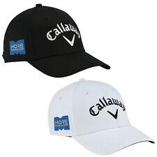 Callaway Mens Side Crest Cap Adjustable Golf Cotton Baseball Crested Hat