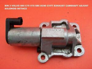 BIN 3 VOLVO S60 C70 V70 S80 XC90 CVVT EXHAUST CAMSHAFT ADJUST SOLENOID 8670422