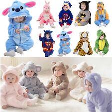 bébé enfants hiver chaud pyjama kigurumi tout-petit Animal déguisement costume