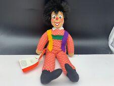 Sigikid Stofftier Sammler Clown Puppe 30 cm. Top Zustand