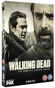 The Walking Dead : The Complete Season / Series 7 (6 Disc DVD Set) New Sealed