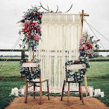 190cm Macrame Wall Hanging Tapestry Room Door Window Curtain Wedding Backdrop