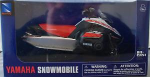 NewRay 1:12 Yamaha Snowmobile