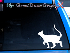 Devon Rex Cat #1 -Vinyl Decal Sticker -Color -High Quality