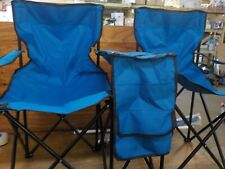 Flexzion Double Folding Chair with Removable Umbrella Table Cooler Bag Fold Up S