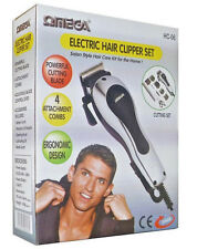 OMEGA Electric Hair Clipper Set, 1st Class Same Day Dispatch