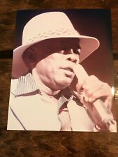 Vintage John Lee Hooker 8x10 Glossy Photo Singing