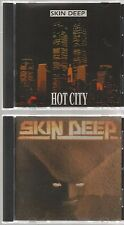 SKIN DEEP painful day + HOT CITY 1995 IMPORT 2 CD  10 track OLLIE FROM HAGEN