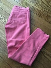 Women's J. CREW Sun Washed Pink Toothpick Slim Leg Jeans - Size 26""