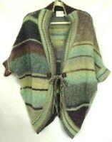 Michael Stars Womens Cocoon Sweater Cardigan Multicolor Alpaca Wool Lagenlook 1