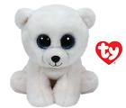 TY BEANIE BABIES ARCTIC ORSO POLARE BIANCO WHITE POLAR BEAR 15 CM T 42108 BOOS